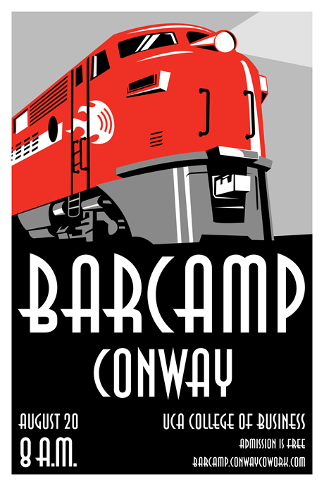 BarCamp Conway Poster